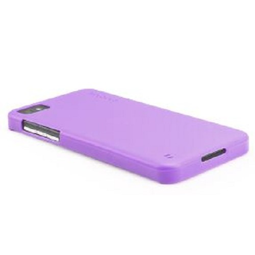 CAPDASE Soft Jacket for BB Z10 [SJBBZ10-P2Y5-BB]- Solid Purple - Casing Handphone / Case
